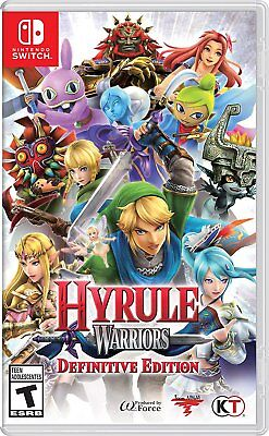 Hyrule Warriors: Definitive Edition (Nintendo Switch) BRAND NEW & SEALED!!!! nsw