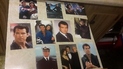 james bond tomorrow never dies set of 10 unused postcards pierce brosnon 1997