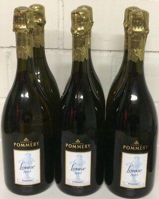 6 x Champagne Pommery Cuvee Louise 2003.