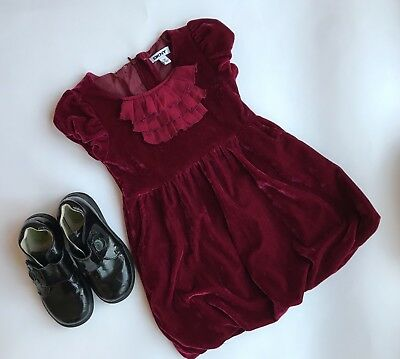 DKNY Girls' Dress & Stride Rite Patent Leather Shoes-Size 3-4 Years-Exc. Cond.