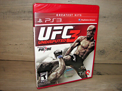 UFC Undisputed 3 (Playstation 3 PS3)   ***NEW SEALED***