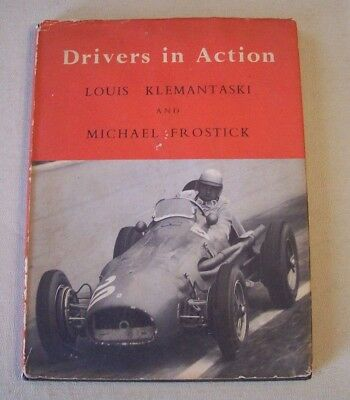 1955 Vintage European Auto Road Racing Book Grand Prix Drivers Photos History