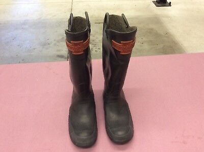 Vintage American LaFrance Firefighting boots from the 60's