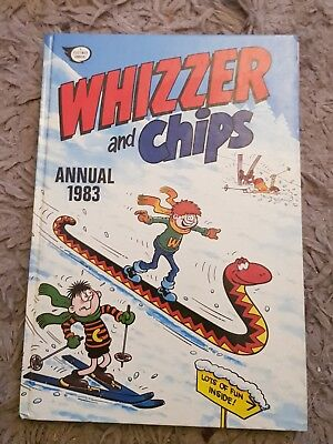 'WHIZZER and CHIPS' ANNUAL 1983 : HARDBACK