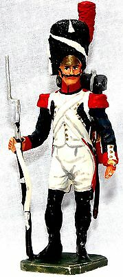 Military Miniature French Old Guard Napoleon Bonaparte Waterloo     Toy Soldiers