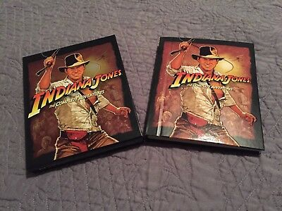 Indiana Jones - The Complete Adventure Collection (Blu-ray , 2012, 5-Disc Set
