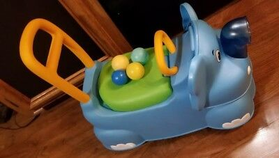 Little Tikes Scoot Around Animals Elephant Toddler Ride On Walker Learning Toy