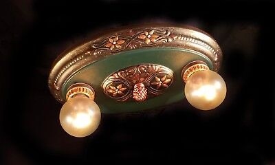 Elegant Vintage Victorian Deco Period Antique Light Fixture