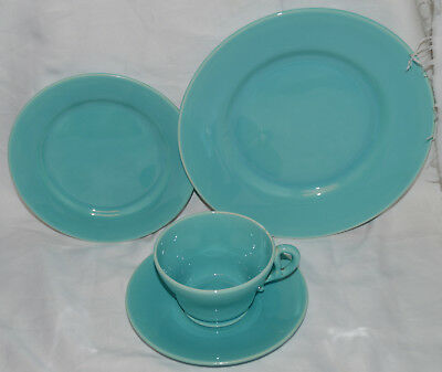 "Vintage Franciscan El Patio ""GMB"" Turquoise  Salad Plate - B&B Plate - C & S"