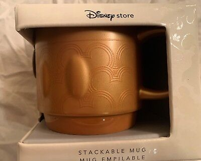Disney Memories Mickey Mouse Stackable Mug - Feb Limited Edition FREE SHIPPING