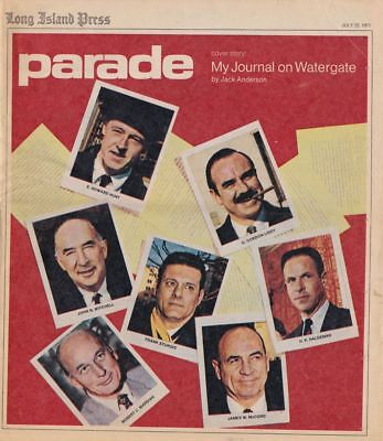 Jack Anderson tells the Watergate Story Parade Magazine 1973 Complete