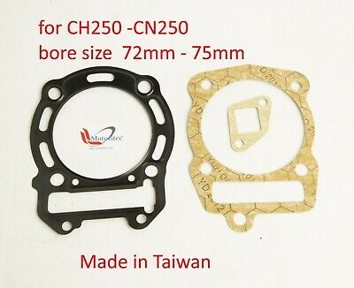 Top End rebuild Gasket  for Honda CN250  CH250 elite 250 CFMoto CF172mm TW
