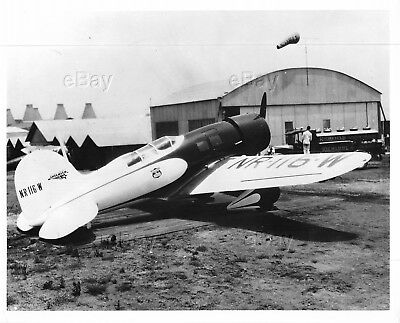 Vintage Aircraft Photo Nr116W Nc116W Lockheed Sirius 8C Model Sport Cabin Plane
