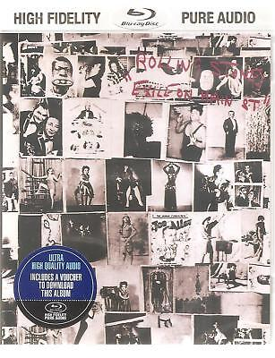 Rolling Stones Exile On Main Street BLU-RAY AUDIO High Fidelity Pure Audio NEW