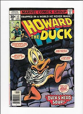 Howard The Duck #12 1977 1St Appearance Of Kiss! High Grade Key! Bronze Age!