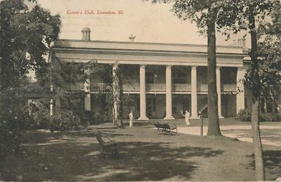 Country Club Grounds at Evanston IL, Illinois - pm 1908 - DB