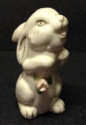 White Bunny Rabbit Vintage Japan Lustreware