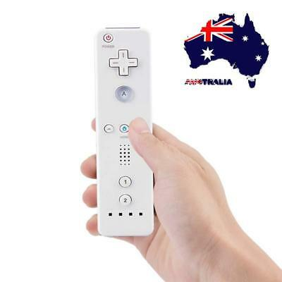 AU White Wiimote Built in Motion Plus Inside Remote Controller For Nintendo wii
