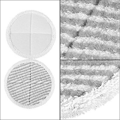 4x Mop Pads Cleaning 21cm Household Supplies For Bissell Spinwave 2039A 2124 Kit