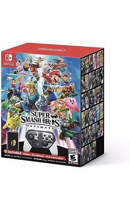 Super Smash Bros. Ultimate Special Edition Nintendo Switch Game NEW