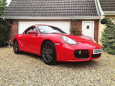 Porsche Cayman S 3.4 S 6 speed , low miles with full main dealer history
