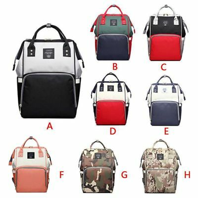 Baby Diaper Nappy Mummy Chang Bag Backpack Multifunctional Shoulder Bag Portable