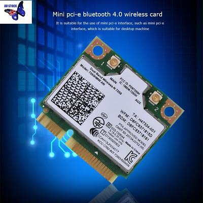 Intel 7260HMW Dual Band Wireless 300Mbps 802.11a/b/g/n Wifi BT 4.0 PCI-E Card AU