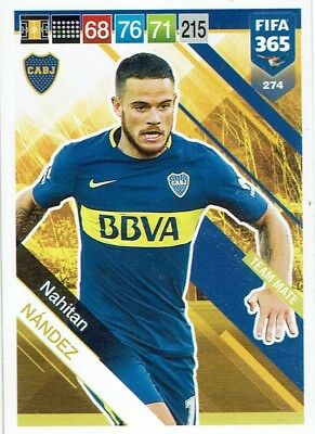 Panini FIFA 365 2019 Adrenalyn XL Team Mate Card Karte Nr. 274 Nahitan Nandez