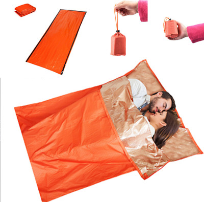 Outdoor Emergency Thermal Sleeping Bag Bivvy Sack Survival Camping Sleeping Bag