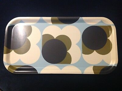 Orla Kiely Tray Medium Big Spot Shadow Back Black