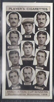 Players-Association Cup Winners-#31- Football - Wolves - 1908
