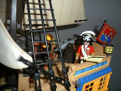Playmobil Piratenschiff 4290 + Extras