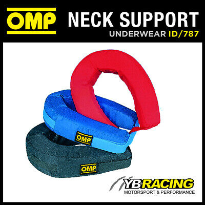Sale! Id/787 Omp Racing Padded Neck Support Collar In Nomex Adult One Size