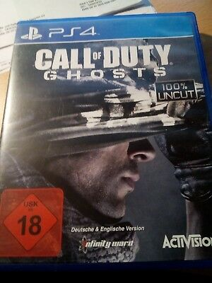 Call of Duty: Ghosts (Sony PlayStation 4, 2013, DVD-Box)