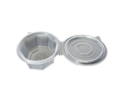 Salad box 750ml with transparent Salad Bowl 8-square box cover