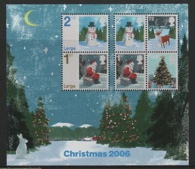 GB STAMP MINIATURE SHEET 2006 Christmas SG MS2684 Mint/Hinged
