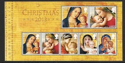MS3549 2013 Christmas miniature sheet UNMOUNTED MINT/MNH