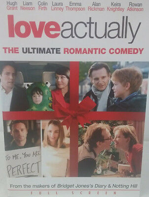 Love Actually  DVD Movie *New Case *Cleaned *Tested*852