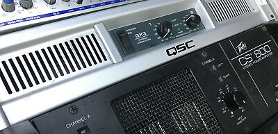 QSC GX3 POWER amplifier INC crossover - £150.00 | PicClick UK Qsc Gx Schematic on