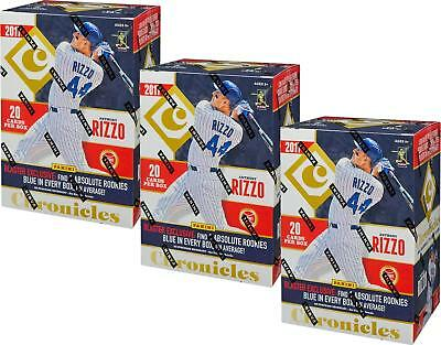 2017 Panini Chronicles Baseball Blaster Box (Lot Of 3)-Judge, Bellinger Rc's!