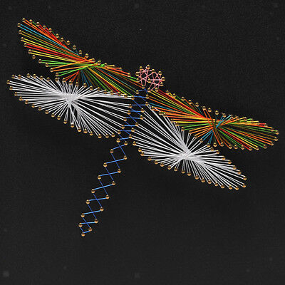 Dragonfly String Art Kits DIY Home Ornament for Adults Kids Handmade Crafts