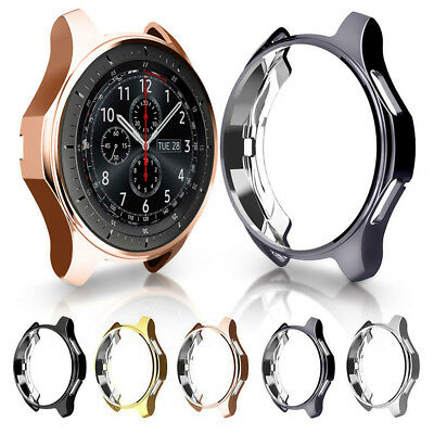 Skin TPU Watch Case Protective Cover For Samsung Gear S3 Galaxy Watch 46mm