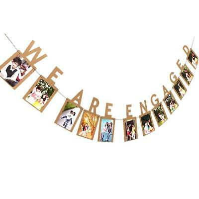 Candy Bar Banner Bunting Flags For Wedding Engagement Outdoors Party Hanging J