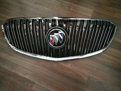 Front Upper Radiator Chrome Grille Grill For 14 15 16 Buick Lacrosse 2014-2016