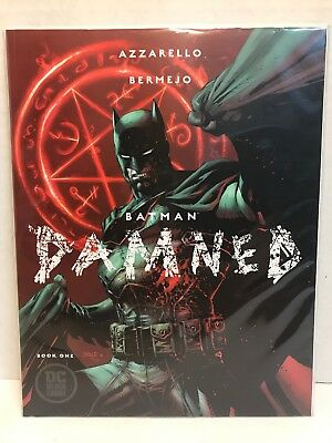 DC 2018 Black Label Batman Damned Uncensored 1st Appearance Bat Wang Jim Lee NM