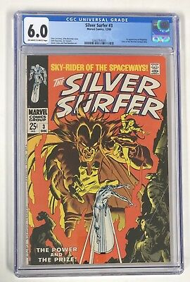 The Silver Surfer #3 (Marvel 12/68) CGC 6.0 1st Appearance Of Mephisto