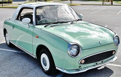 1991 Nissan Figaro Convertible  Right Hand Drive 1.0L Engine 1991 Nissan Figaro 1.0L Engine Right Hand Drive