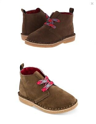 the latest 84511 1e8a0 Carter s brown suede boy boots plus extra laces SZ 11 Christmas outfit GUC