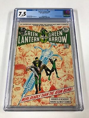 Green Lantern 86 Cgc 7.5 White Pages Dc Bronze Age