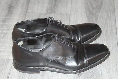 b36bec8a MENS LOAKE 1880 Black Calf Leather Oxford Cap Shoes Uk 8 - £30.00 ...